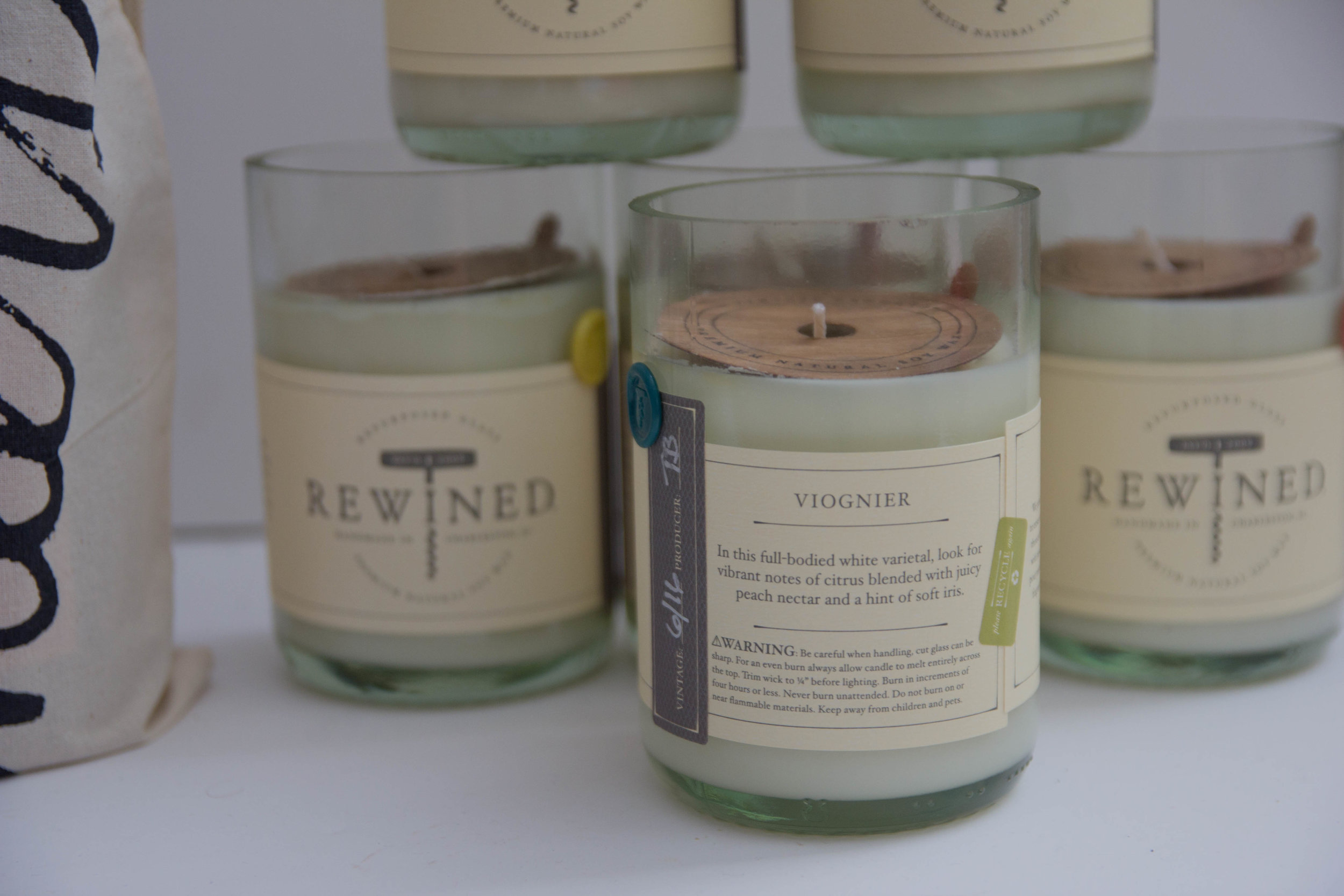 rewined candles, wine candles, charleston, south carolina, farmers market, blanc collection, wine candles, what to get as a hostess gift, the perfect hostess gift no matter the occasion, hostess gift ideas