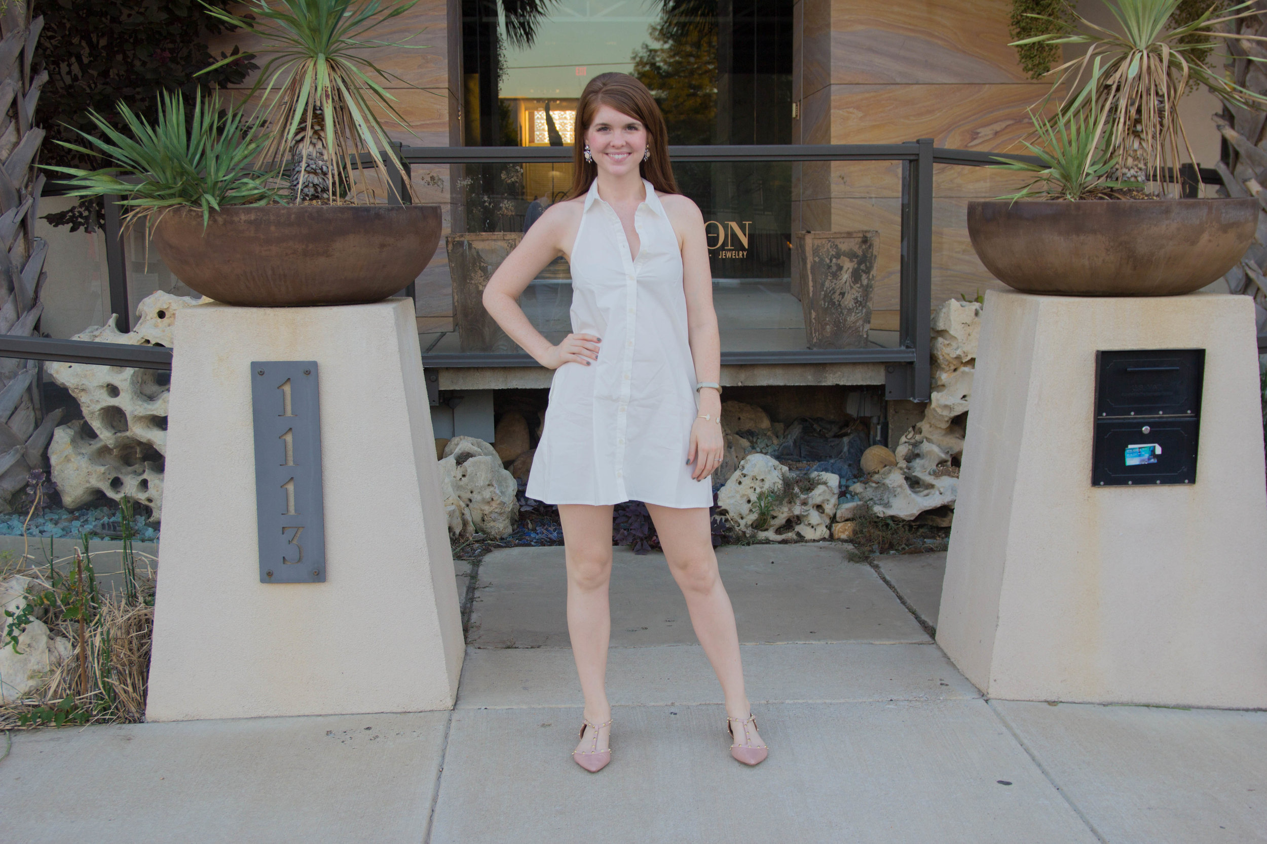 why you aren't supposed to wear white after labor day and why dallas does, labor day, easter, white, diner en blanc, dallas, france, french, tobi white halter dress