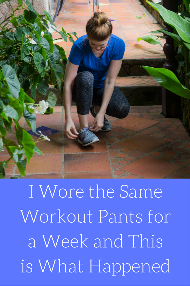 tasc performance, nola crop pant, bamboo, saint lucia, villa piton, soufriere, i wore the same workout pants for a week and this is what happened, fitness wear, active wear, workout clothes that don't smell