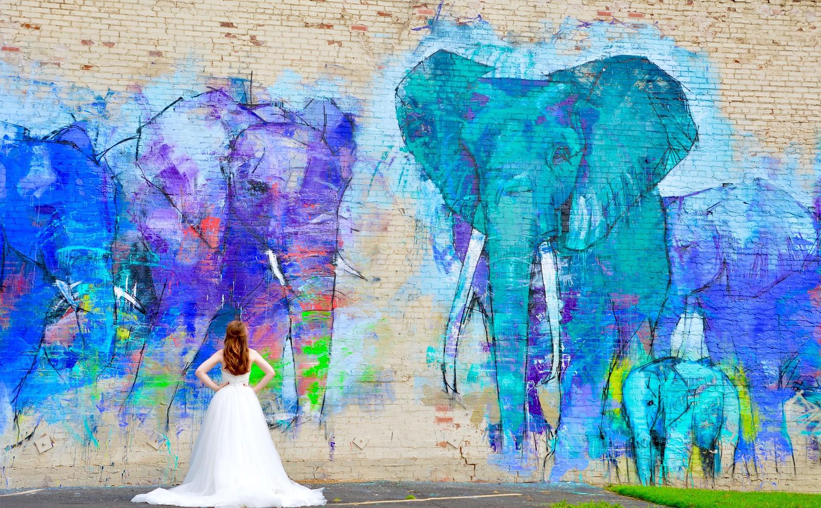 how i found my wedding dress, plus 9 tips to find yours, wedding dress tips, wedding dress shopping, deep ellum elephant mural, nordstrom bridal sale, dallas wedding, heidi lockhart somes photography, where to get wedding dresses in dallas