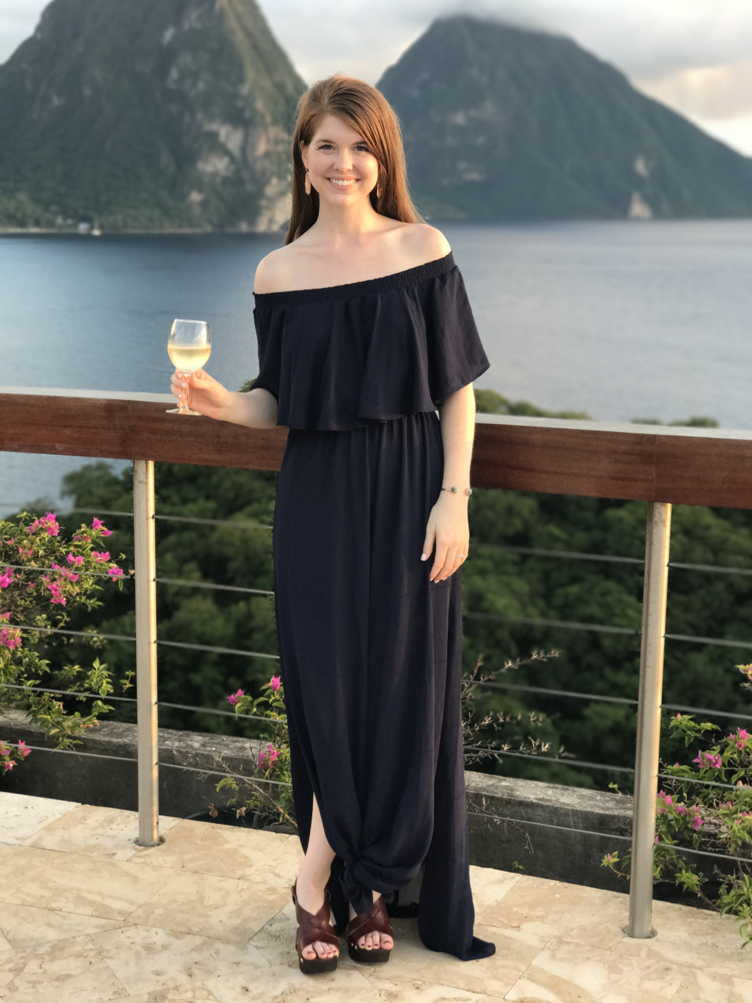 why you should do premarital counseling, merge, watermark, premarital counseling in dallas, Hacienda Convertible Off the Shoulder A-Line Gown, saint lucia, honeymoon, jade mountain