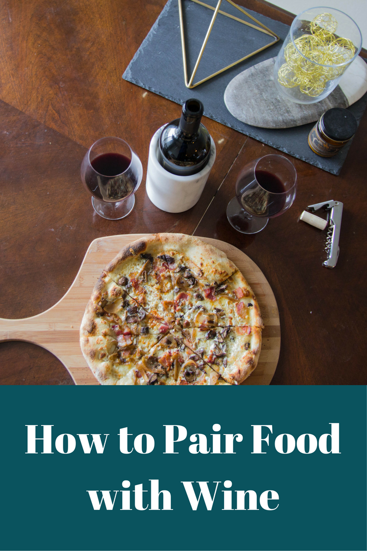 how to pair food with wine, wine pairing 101, flora springs, what to pair with wine, pie tap pizza, napa, how to wine pair, wine pairing basics, crate and barrel marble
