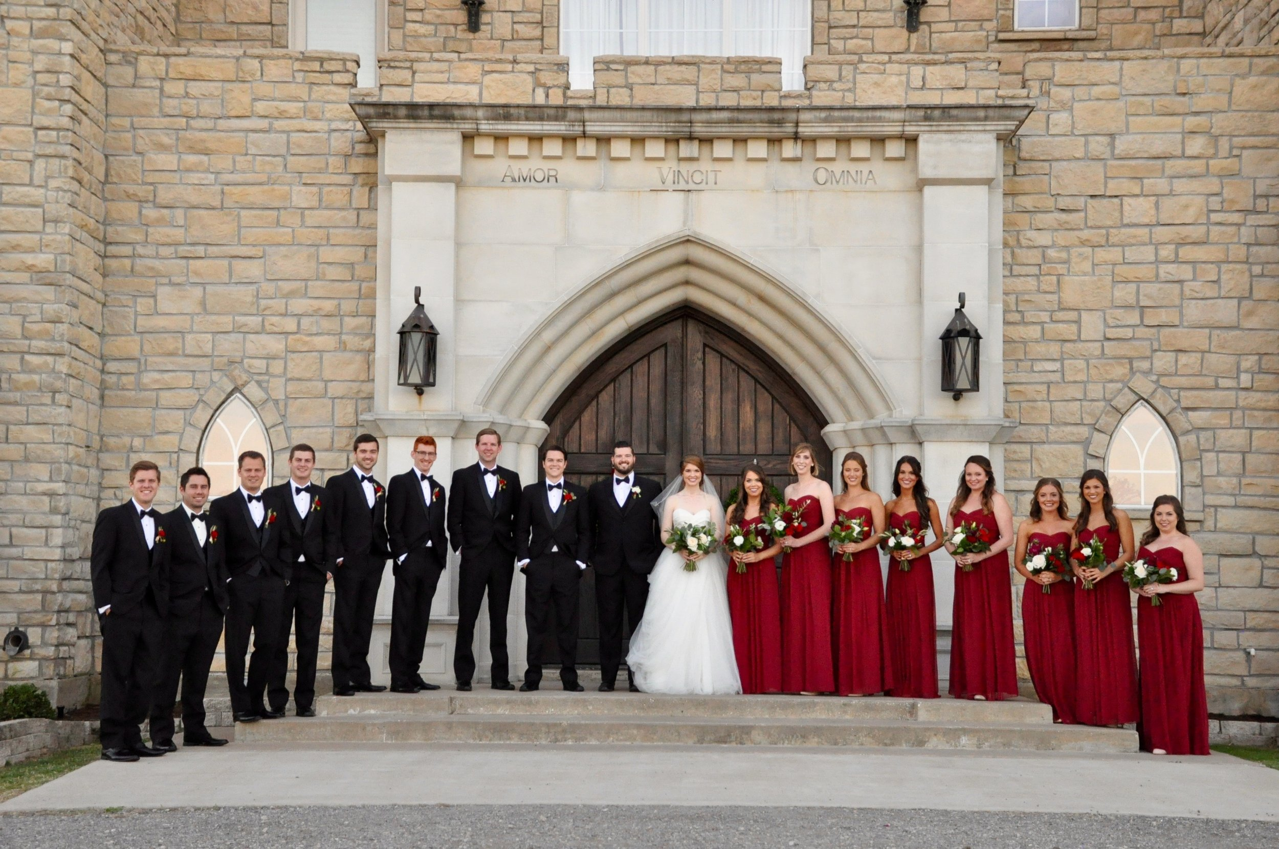 where to get tuxedos for your groomsmen, online tuxedo company, menguin, wedding, bridal tips, wedding guide, dallas wedding, the castle at rockwall, heidi lockhart somes