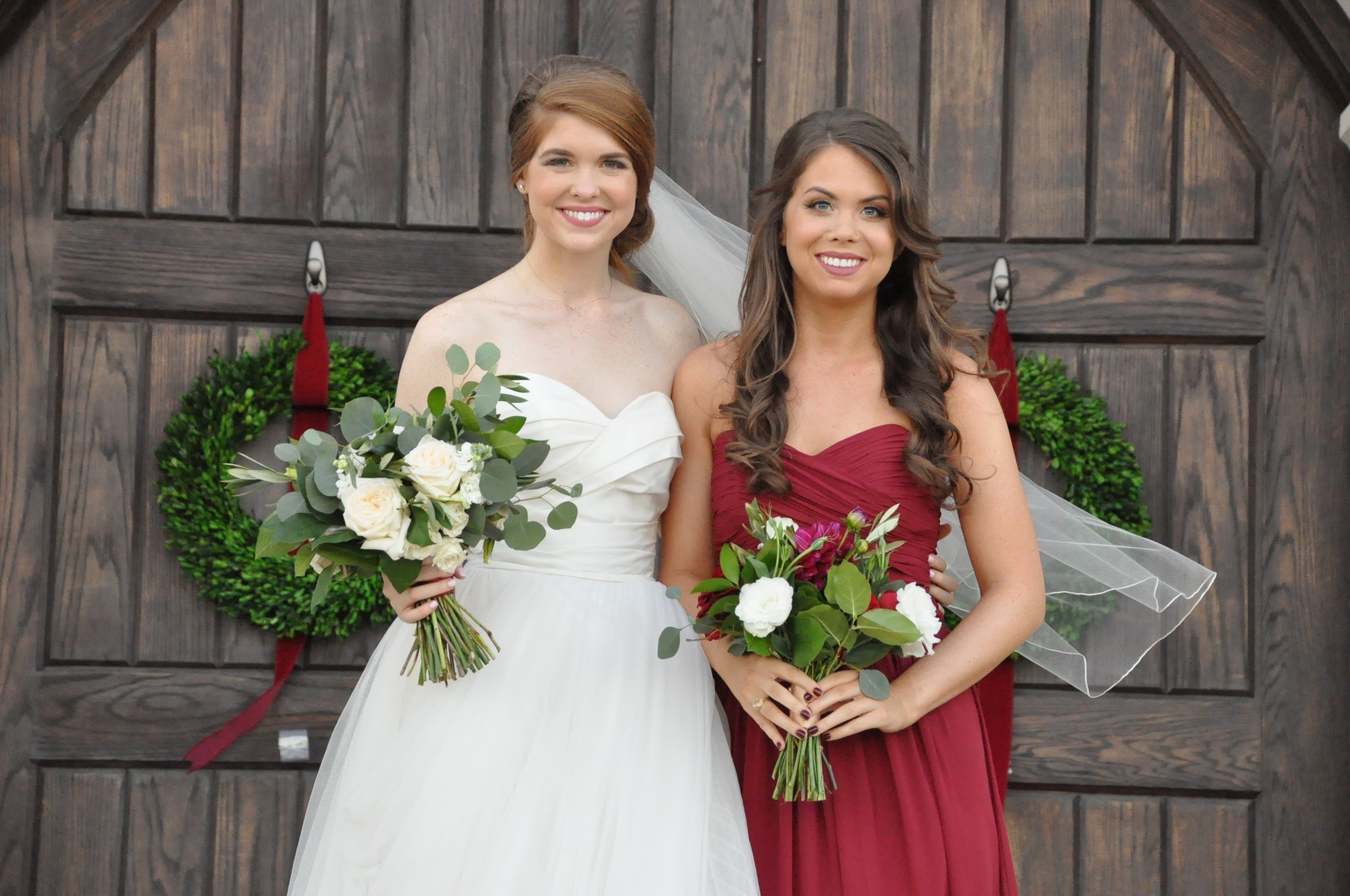 brideside, where to get bridesmaid dresses, the castle at rockwall, heidi lockhart somes photography,  the castle at rockwall, lizzie bee's flower shoppe, grand slam glam, easy ways to get bridesmaid dresses