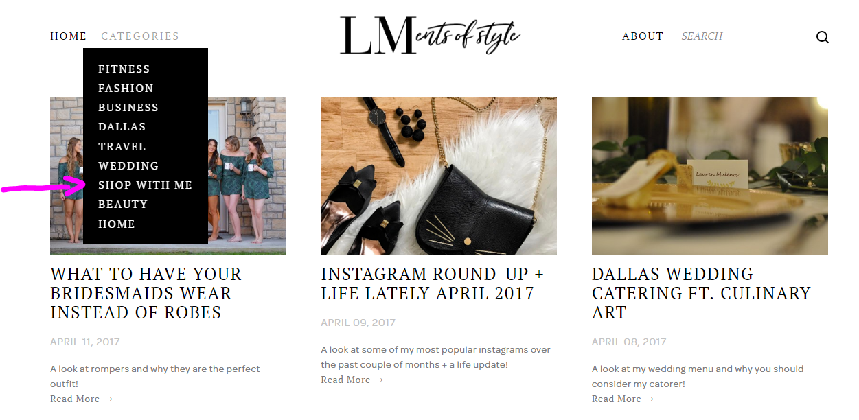 how to shop my posts with like to know it, liketoknowit, ltki, rewardStyle, #startedwithascreenshot