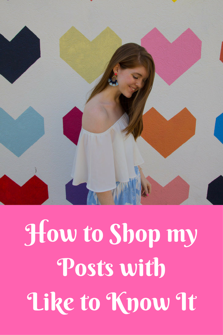 how to shop my posts with like to know it, rewardstyle, #startedwithascreenshot, the standard pour, uptown dallas, where to take pictures in dallas, wildfox pool blue shorts, show me your mumu heidi crop, dolce vita pacer sandals, baublebar earrings