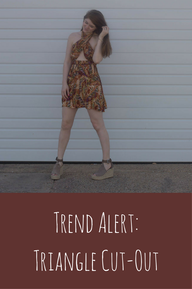 trend alert, triangle cut outs, revolve, tribal dress, marc fisher annie wedges