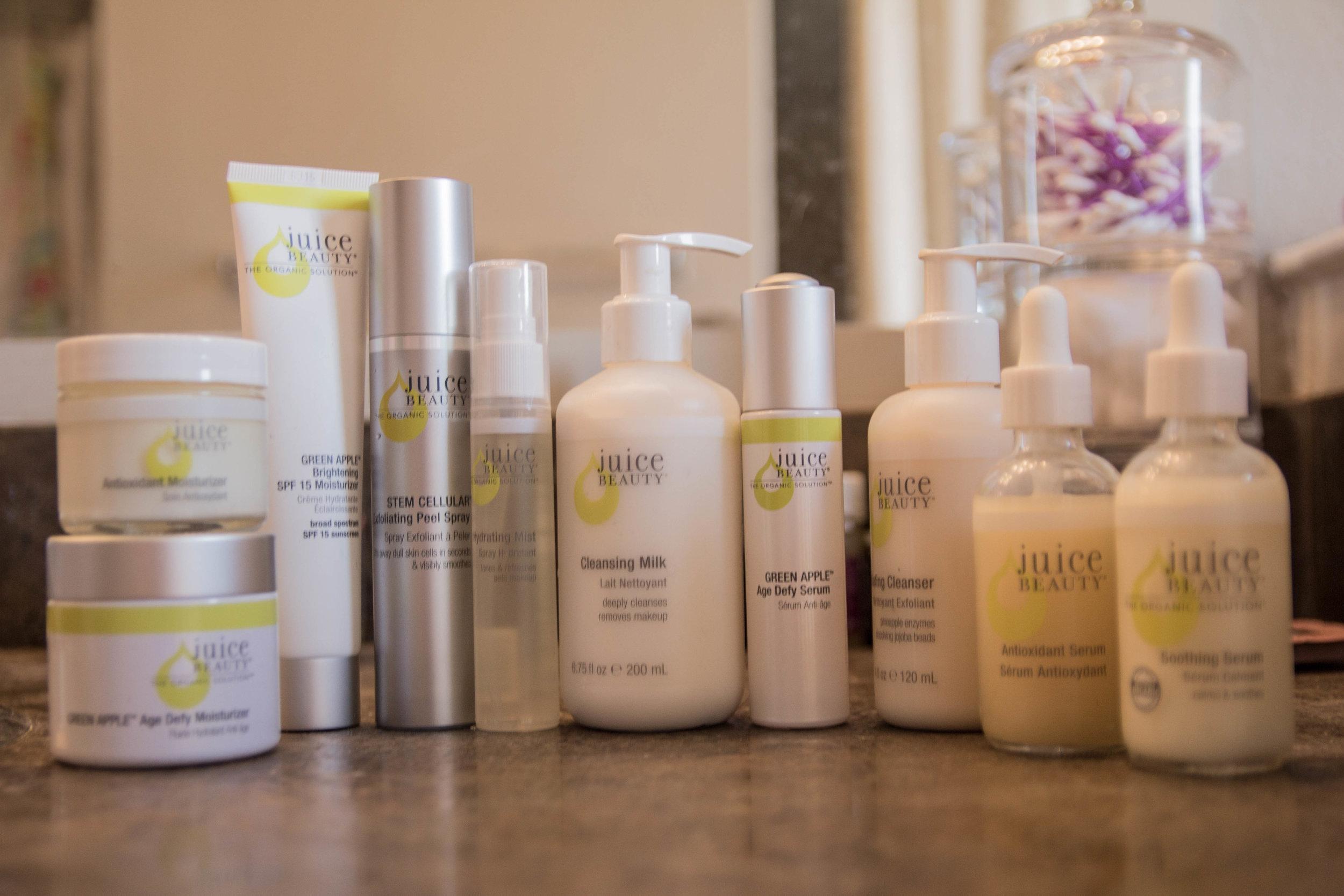 juice beauty, cruelty free, vegan, natural skin care, skincare, organic, skin tups, the best skin care, my current skin care routine