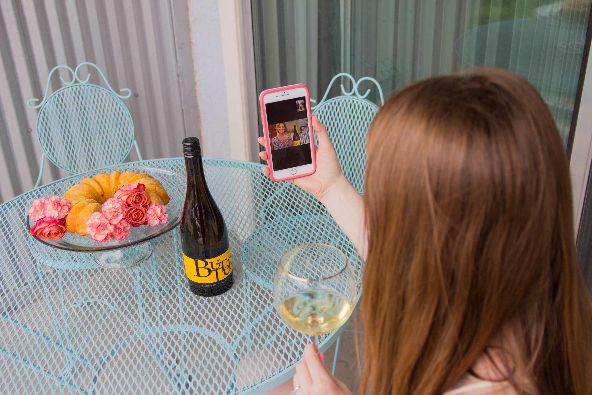 JaM Cellars Butter Chardonnay, Napa Wine, mother's day, cheers to mother in laws, bed bath and beyond tall wine glasses, lemon pound cake, the perfect mother in law gift, otterbox