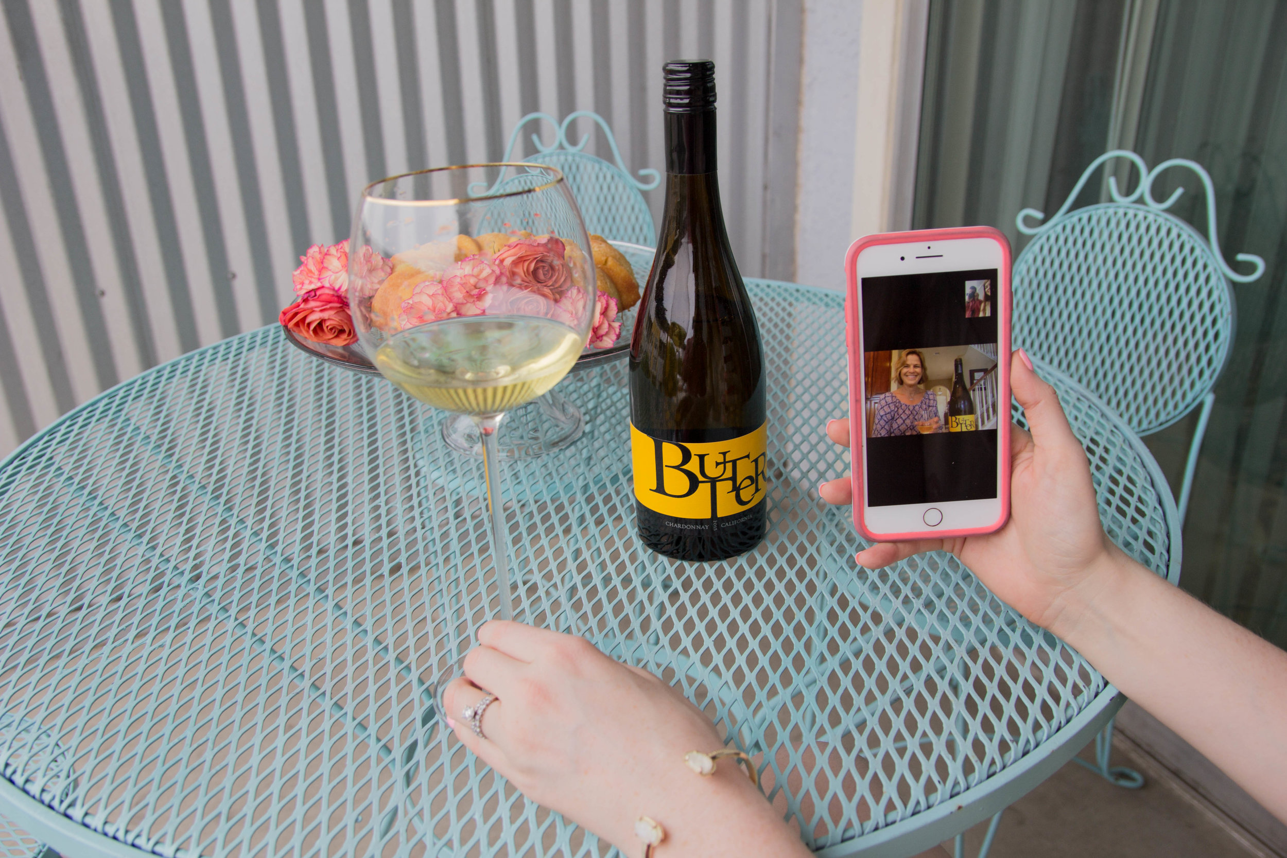JaM Cellars Butter Chardonnay,  kendra scott elton bracelet, Napa Wine, mother's day, cheers to mother in laws, bed bath and beyond tall wine glasses, lemon pound cake, the perfect mother in law gift, otterbox