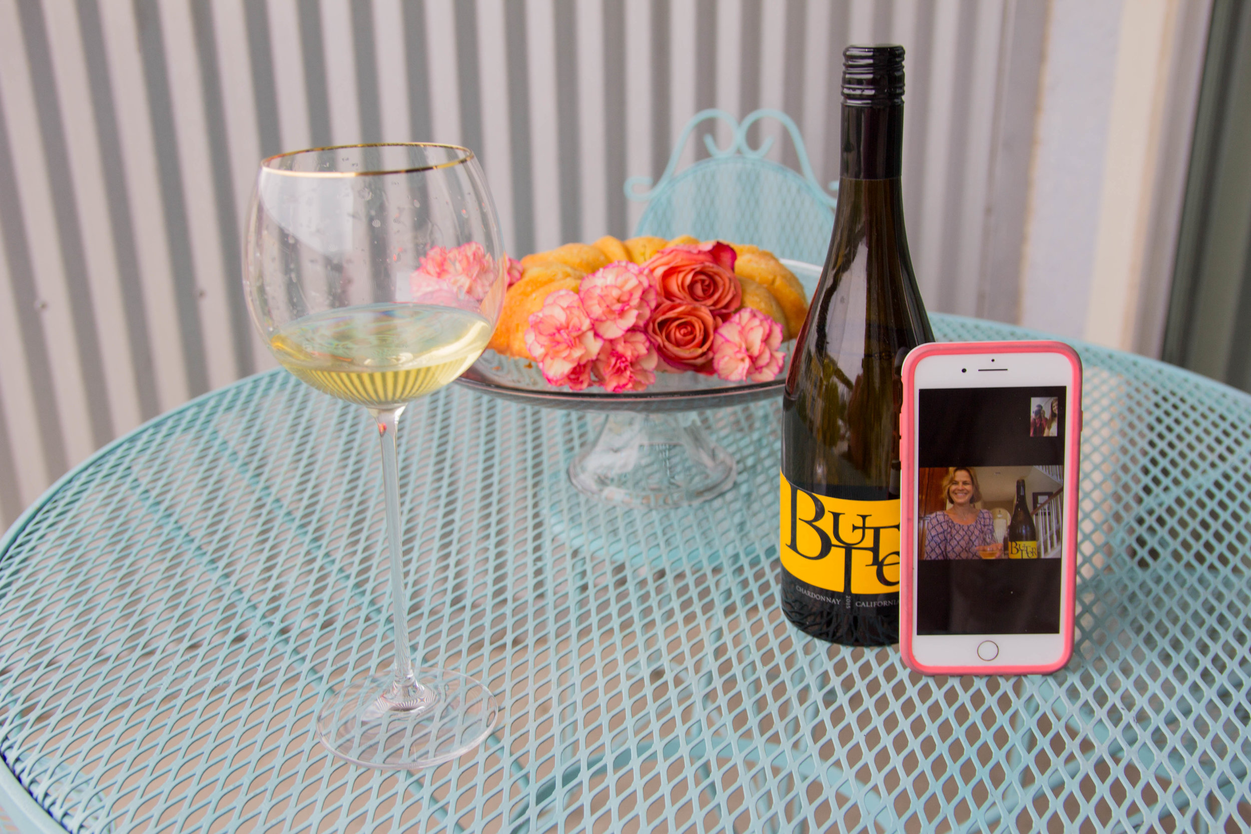 JaM Cellars Butter Chardonnay, Napa Wine, mother's day, cheers to mother in laws, bed bath and beyond tall wine glasses, lemon pound cake, the perfect mother in law gift, otterbox,