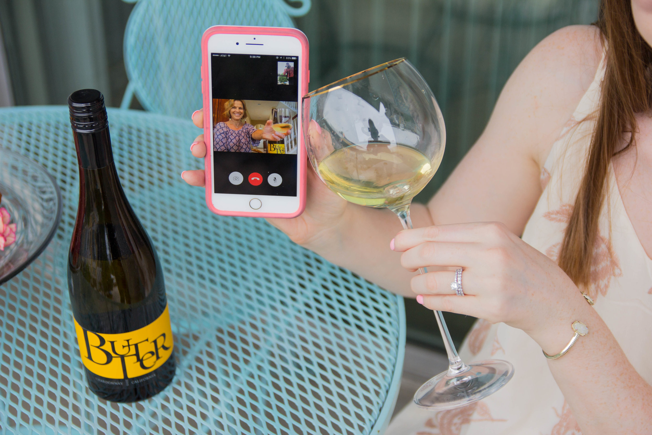 JaM Cellars Butter Chardonnay, Napa Wine, mother's day, cheers to mother in laws, bed bath and beyond tall wine glasses, lemon pound cake, the perfect mother in law gift, otterbox, kendra scott elton bracelet