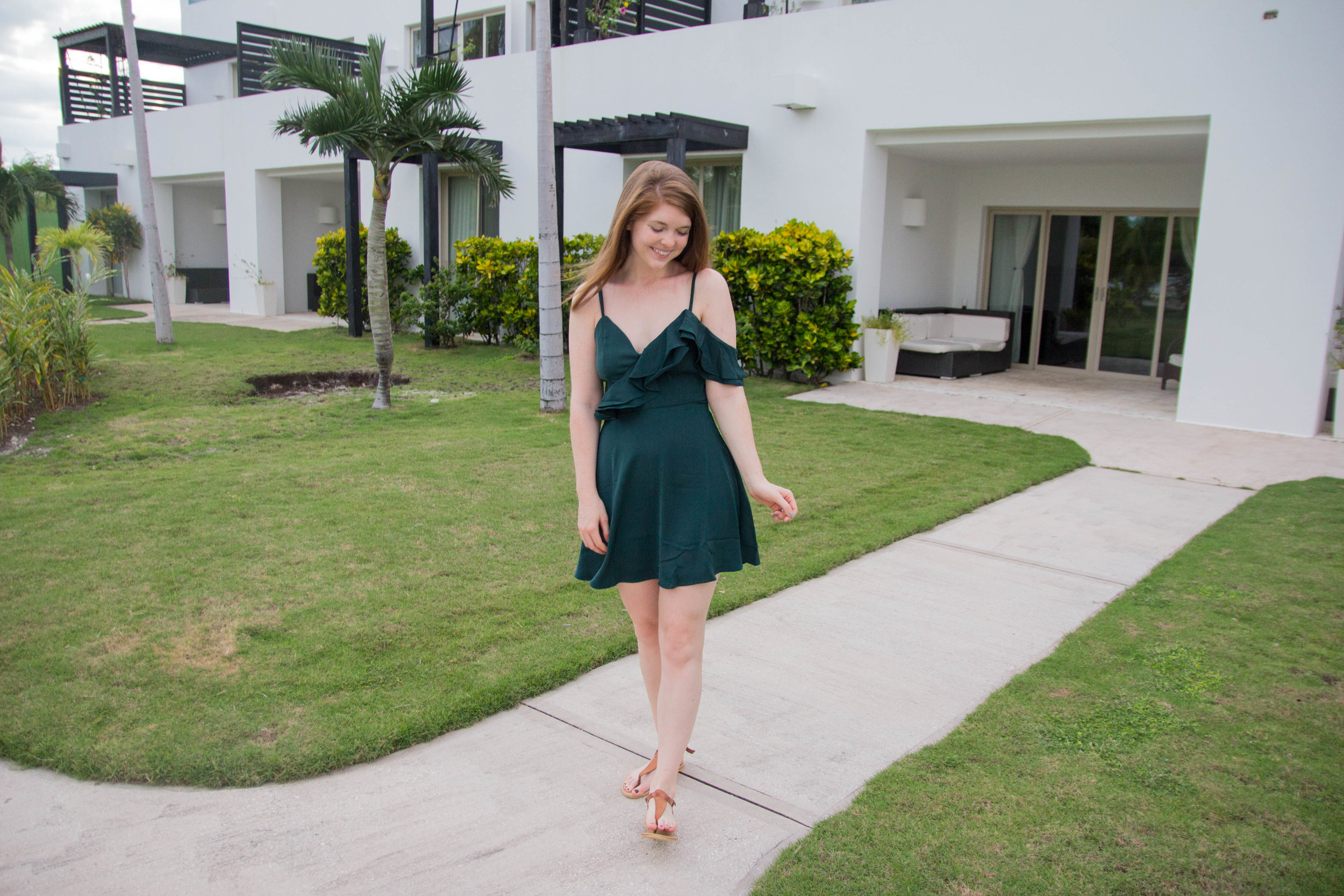 christmas party dress under $100, holiday style, belize, las terrazas, san pedro, ambergris caye