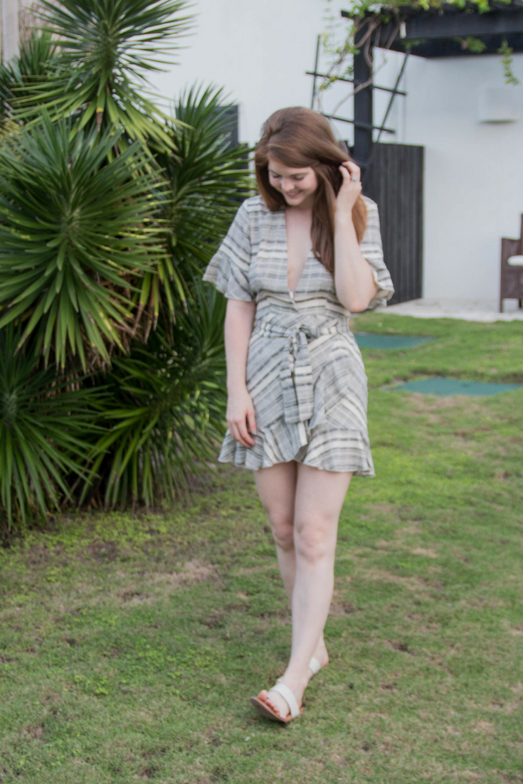 3 reminders when shopping for spring and summer, revolve x portia dress, the art of versatility, belize, las terrazas resort, shopping tips