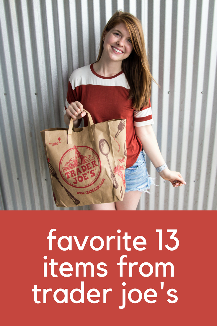 best things to buy from trader joe's, what to buy from trader joe's, favorite 13 items from Trader Joe's,  don't ask why knit t-shirt, agolde parker vintage shorts