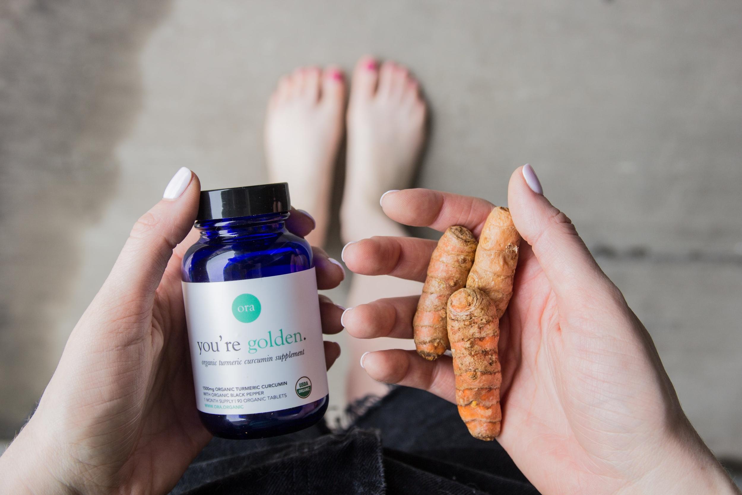 why i started taking a turmeric supplement, ora organics organic turmeric curcumin, benefits of turmeric, how does turmeric help your body,  natural remedies for arthritis, vegetarian turmeric supplements