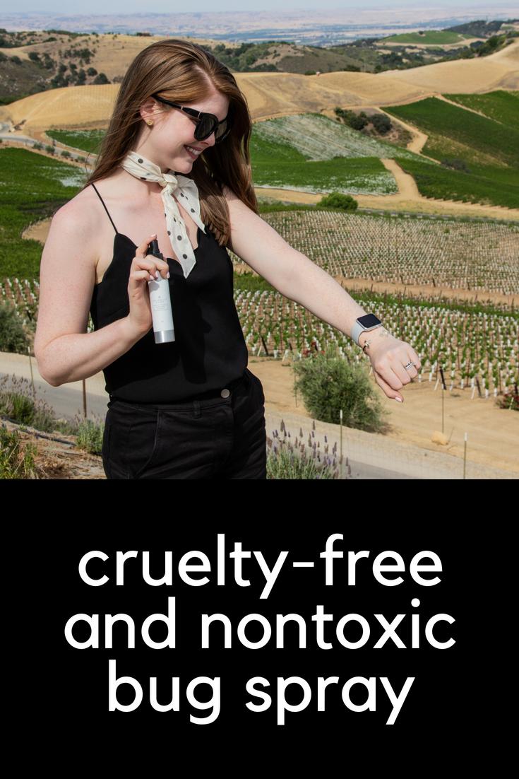 cruelty-free and nontoxic bug spray, primally pure nature spray review, paso robles california, natural bug spray