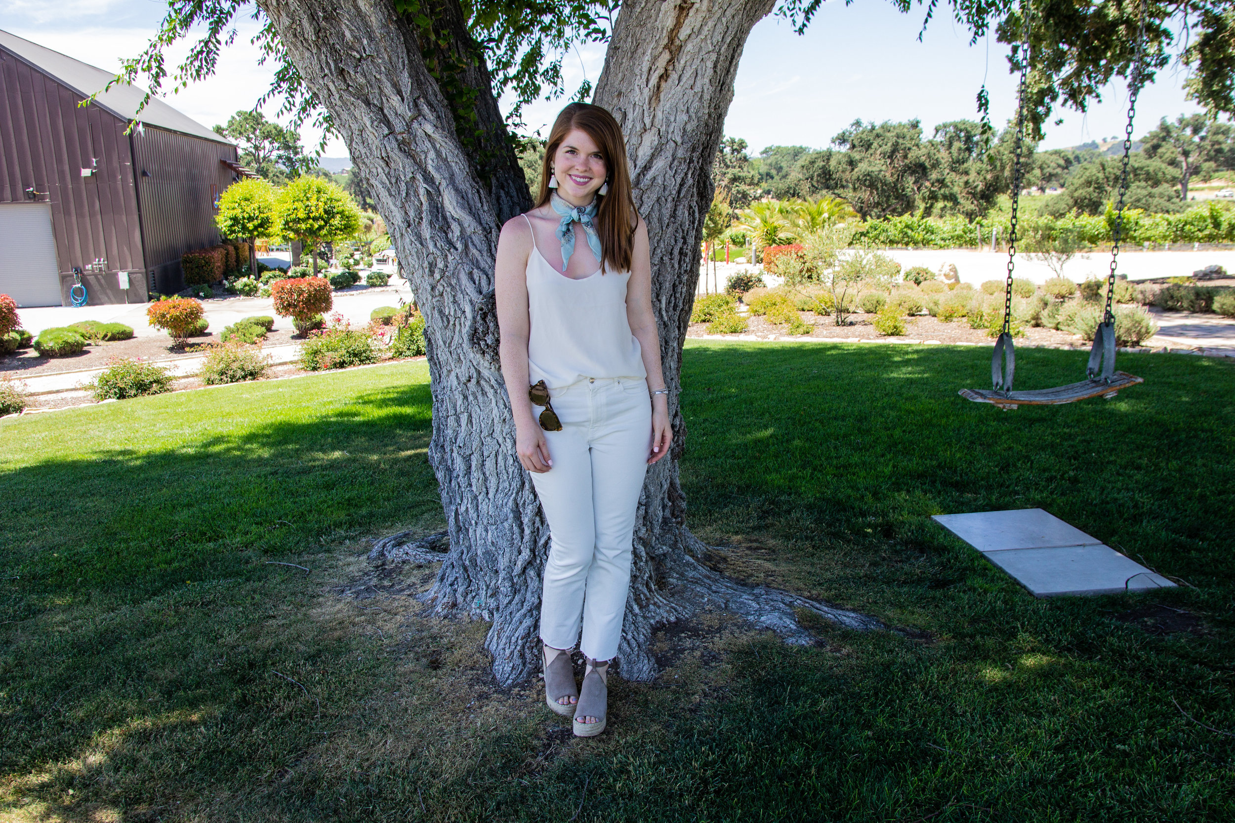 everlane brand overview, ethical fashion, lments of style, ellespann, transparency in fashion, marc fisher annie wedges, kendra scott denise earrings, paso robles, j dusi winery
