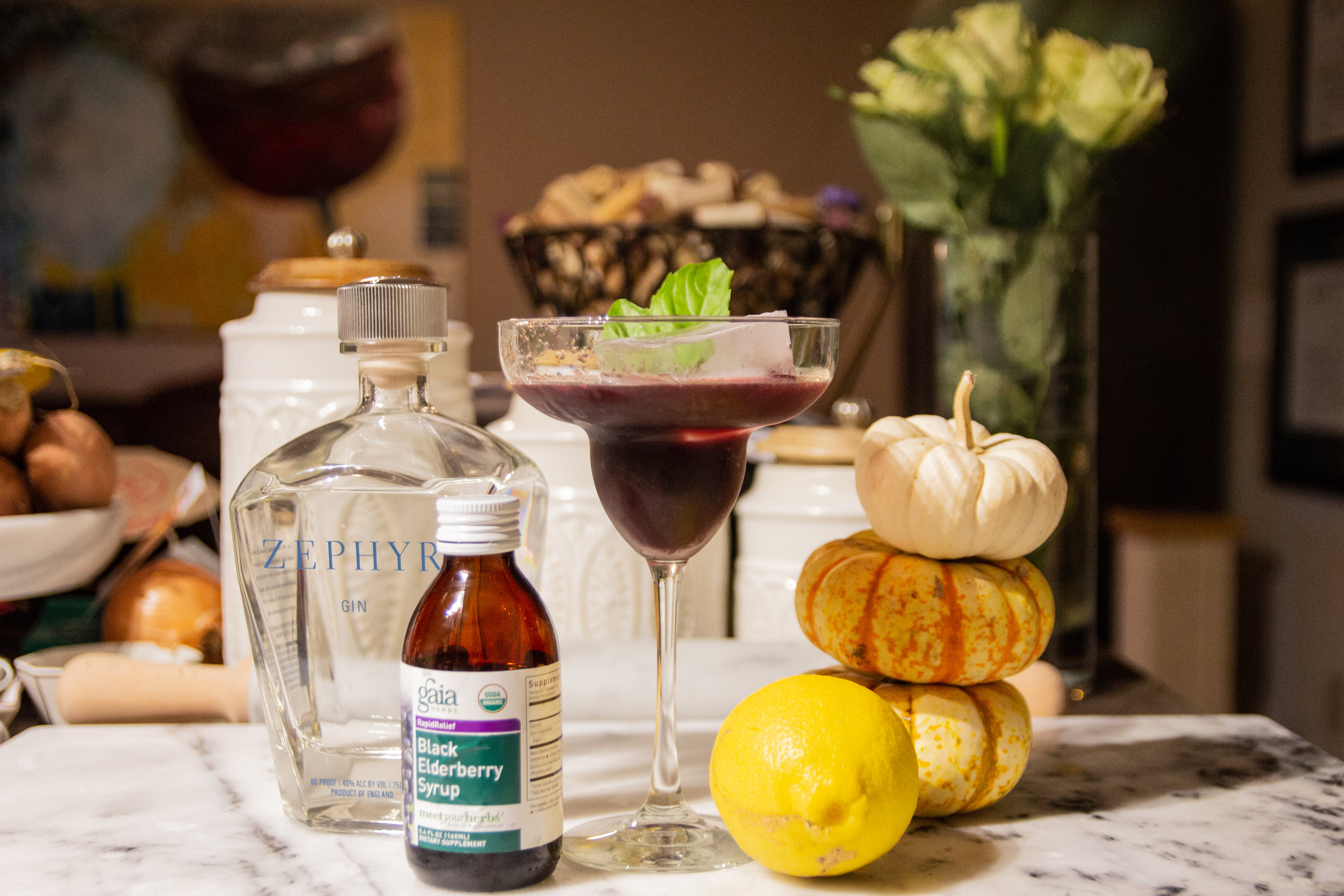 zephyr gin, elderberry syrup, flu fighting cocktail, flu remedies, gin that actually tastes good, holiday cocktails