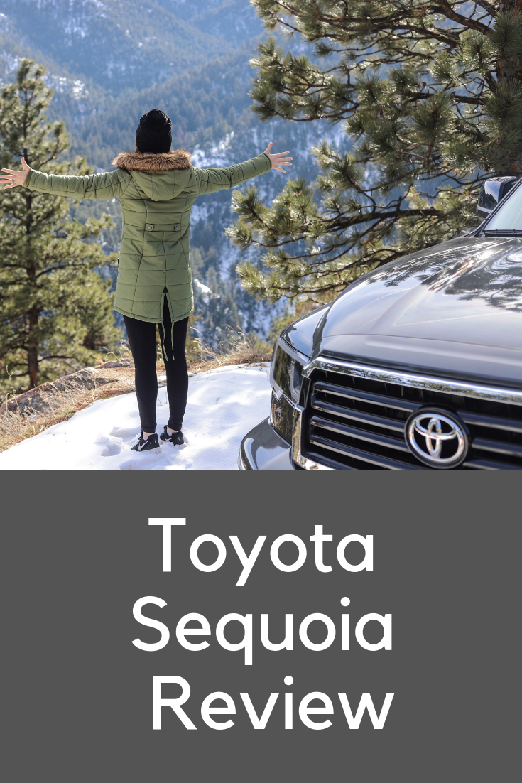 toyota sequoia review, #letsgoplaces, let's go places, colorado, denver, boulder, 4 wheel drive, best cars to rent in colorado