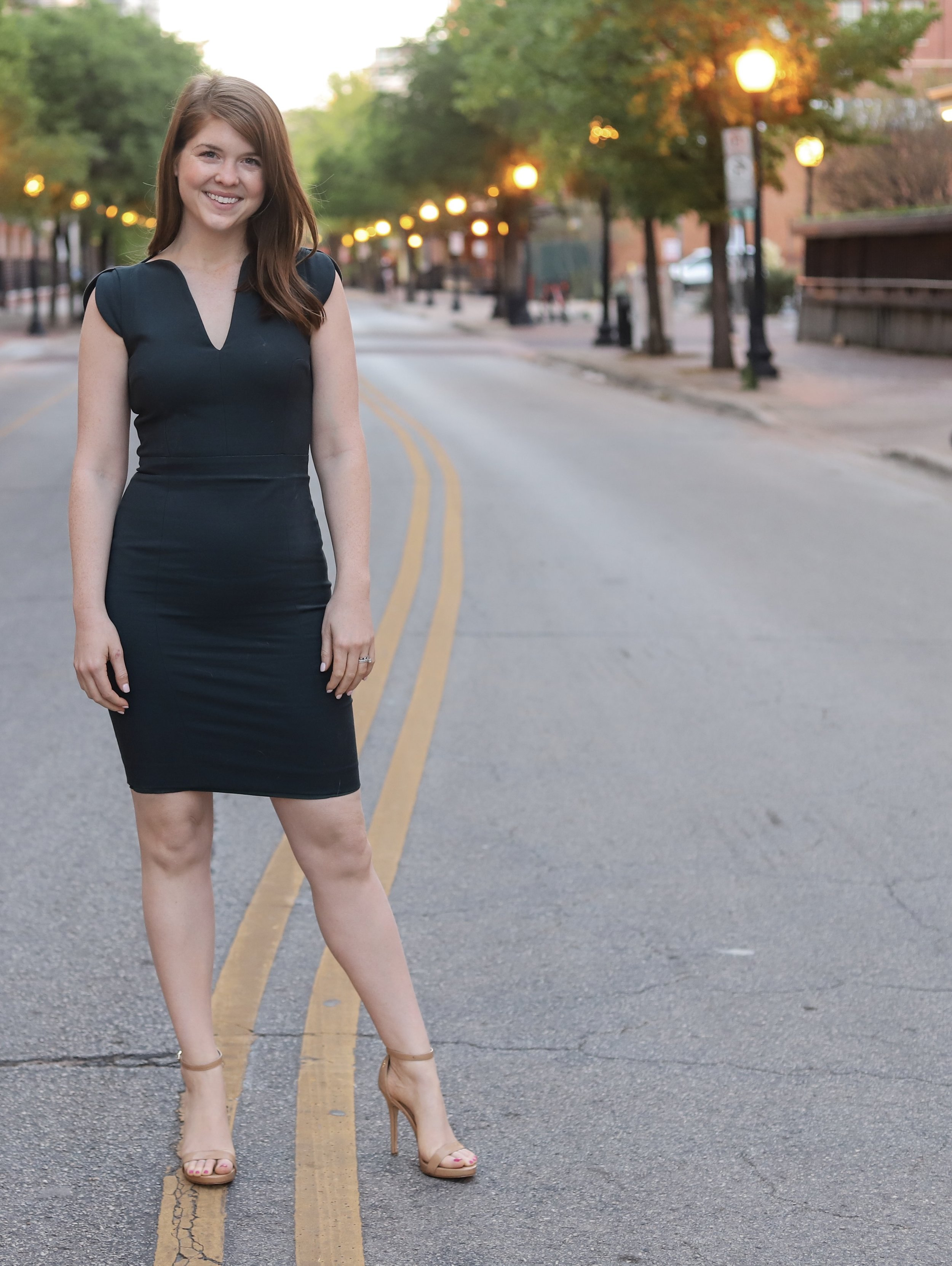 work dress, french connection united kingdon, lolo sheath dress, what to wear to work, lments of style, ellemulenos
