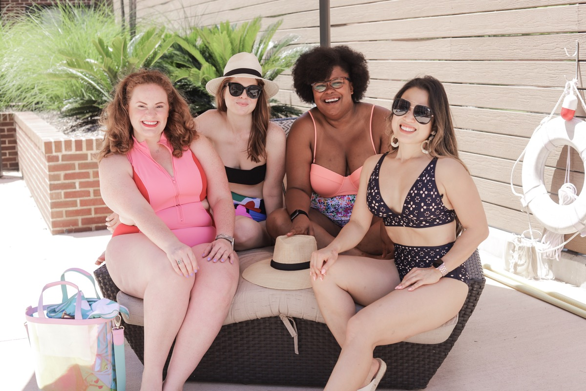 style for every body, petite, plus size, curvy, short, tall, swimsuits, american eagle, swimsuits for every body type, body positivity, lments of style, the healthy curve, the ginger marie blog, cute and little, dallas bloggers, aerie