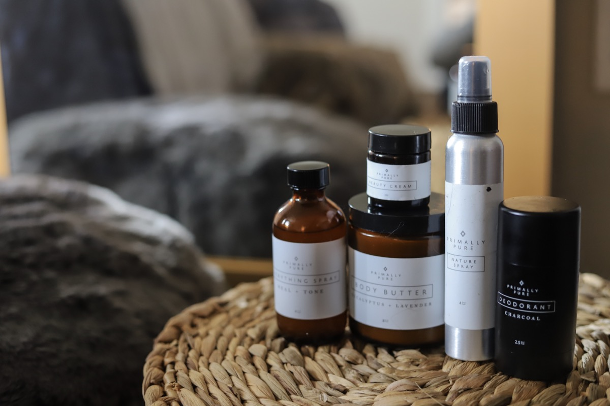 favorite primally pure products, primally pure coupon, lments of style , ellemulenos,  nontoxic cruelty free skincare