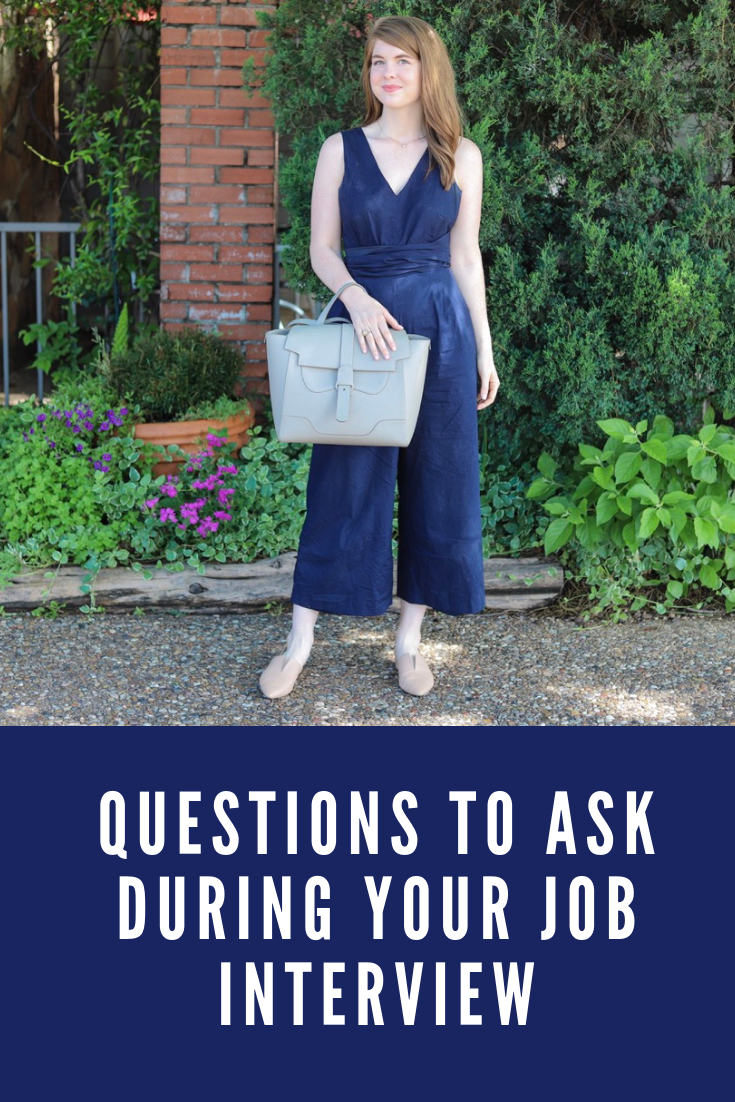 women in the workplace, witw, questions to ask during your job interview, practice for an interview, j crew jumpsuit, senreve maestra bag, vince darlington flats, ilia rosette lipstick, lments of style, ellemulenos