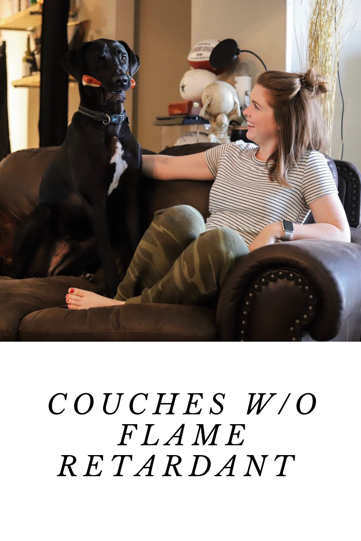couches without flame retardant, sofa, decor, nontoxic home, abc home, burrow, crate and barrel, la-z-boy, medley, pottery barn, pure upholstery, savvy rest, west elm