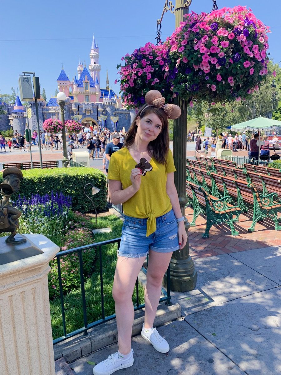 week vacation in los angeles, la, la travel guide, lments of style, ellemulenos, disneyland, rose gold minnie ears