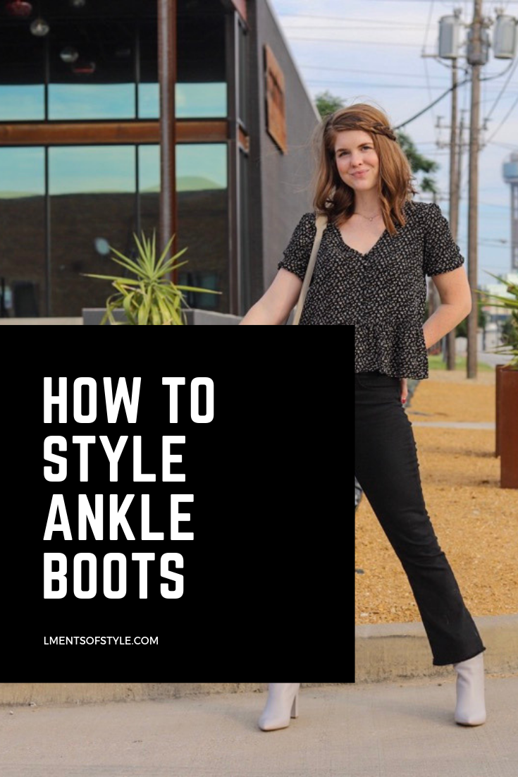 the art of versatility, ankle boots styled 3 ways, marc fisher ankle booties, how to wear ankle boots, how to style heeled ankle boots, unique bootie, pointy toe ulani boot, lments of style, ellemulenos, senreve maestra