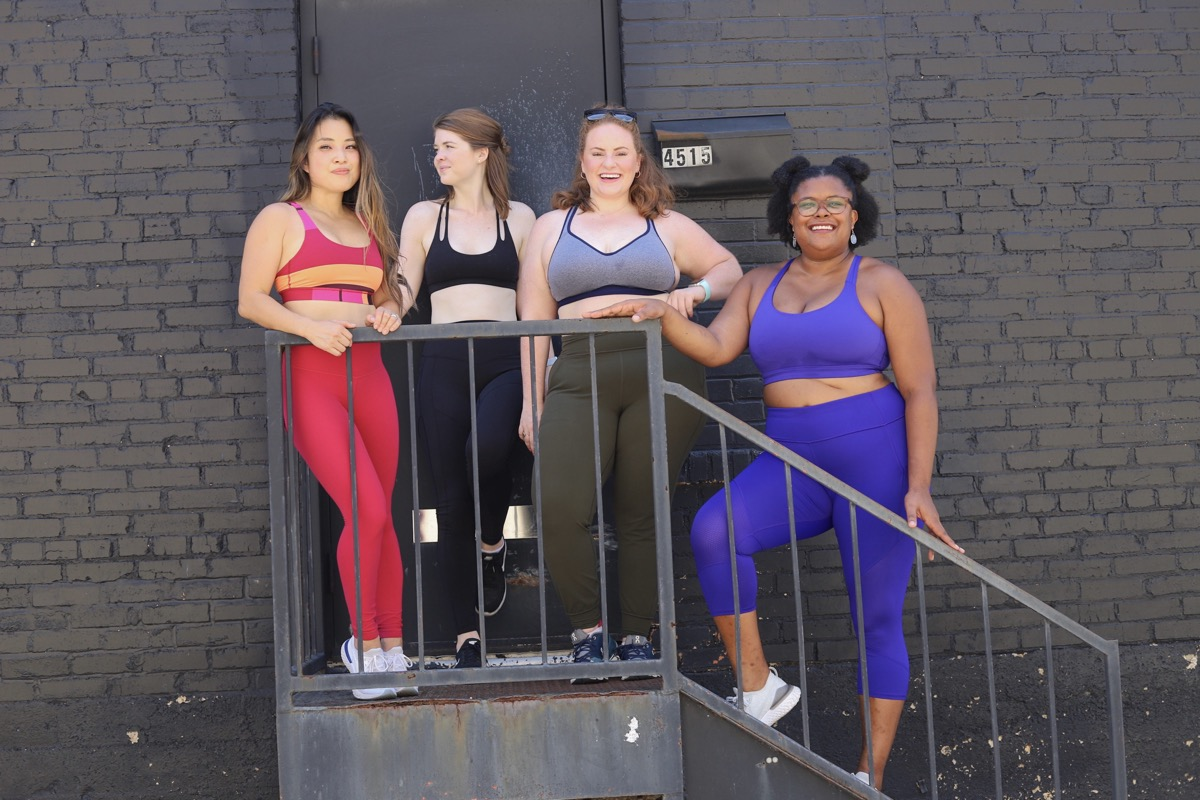 style for every body sports bra edition, lments of style, ellemulenos, montiel, lululemon, athleta, old navy, the healthy curve, cute and little, ginger marie blog, sports bras for petite girls, curvy girls