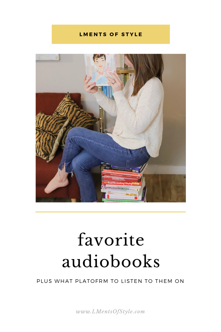 audiobooks, audible review, favorite books, lments of style, ellemulenos, book review, which audiobook subscription to use,  educated a memoir, next year in havana, shoe dog, when we left cuba, something in the water, mistress of the ritz, one day in december, where the crawdad's sing, whisper network, hello sunshine, reese's book club, back to school reads
