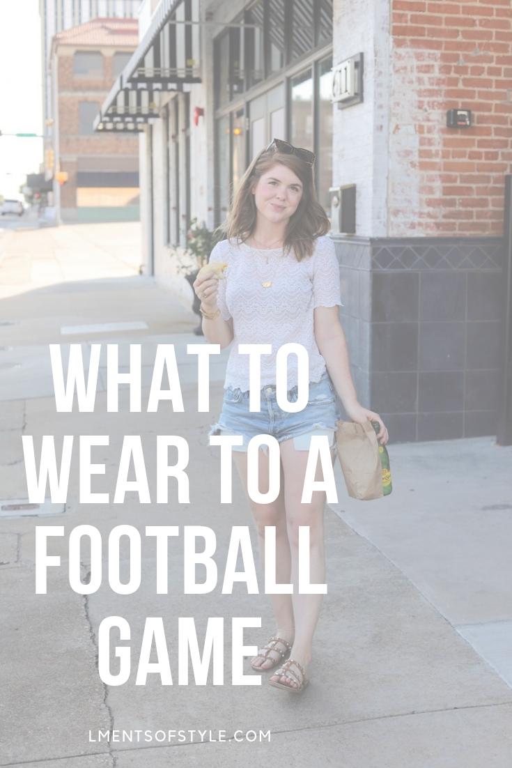 what to wear to a football game, baylor university, waco, texas, football game attire, cute, lments of style, ellemulenos, college football, cowboys football, att stadium
