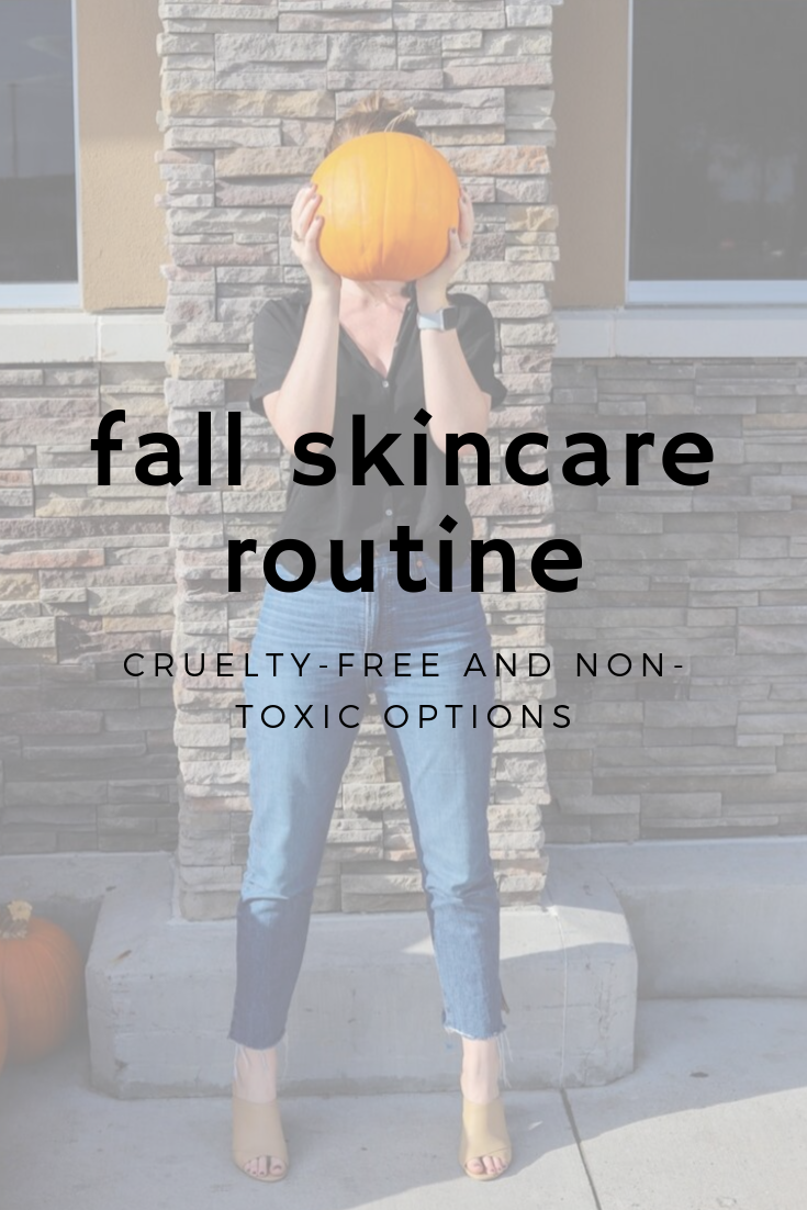 fall skincare update, acne problems, lments of style, ellemulenos, nontoxic skincare, green beauty, cruelty free beauty