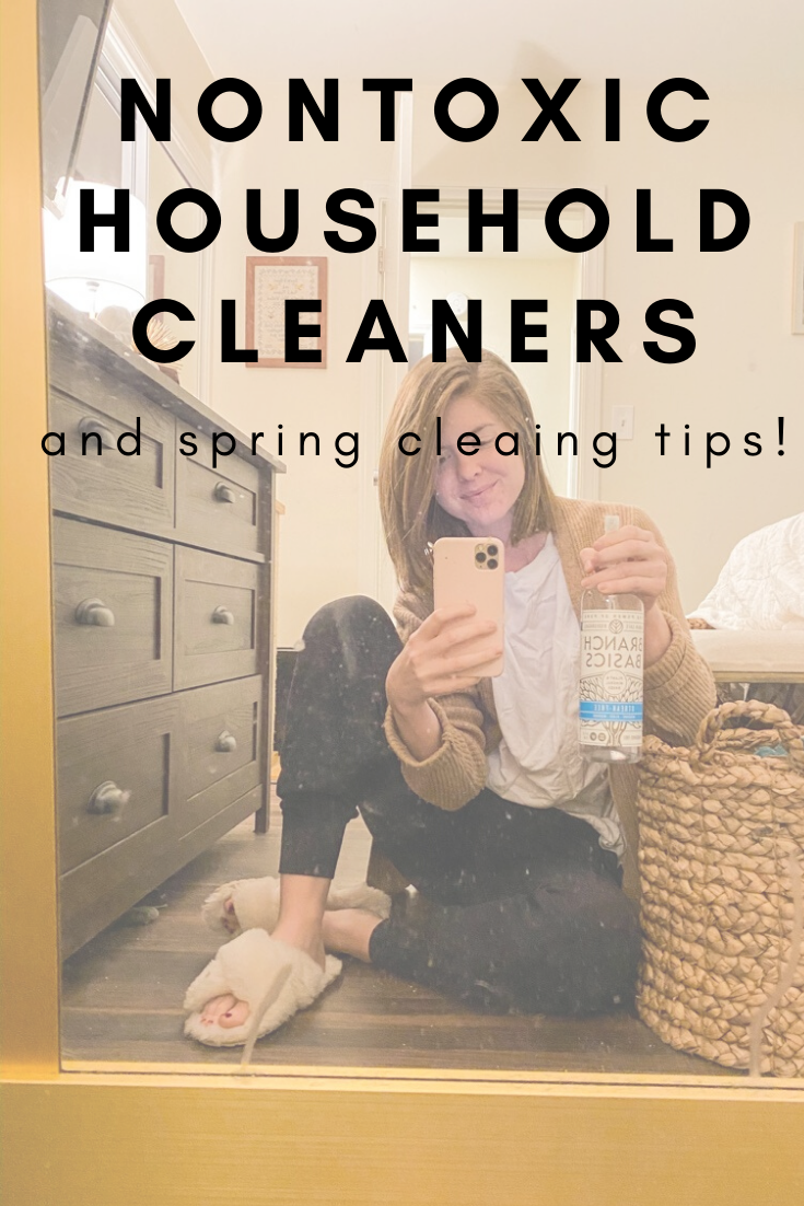 Nontoxic Household Cleaners Easy Steps To Spring Clean Lments Of Style Fashion Lifestyle Blog