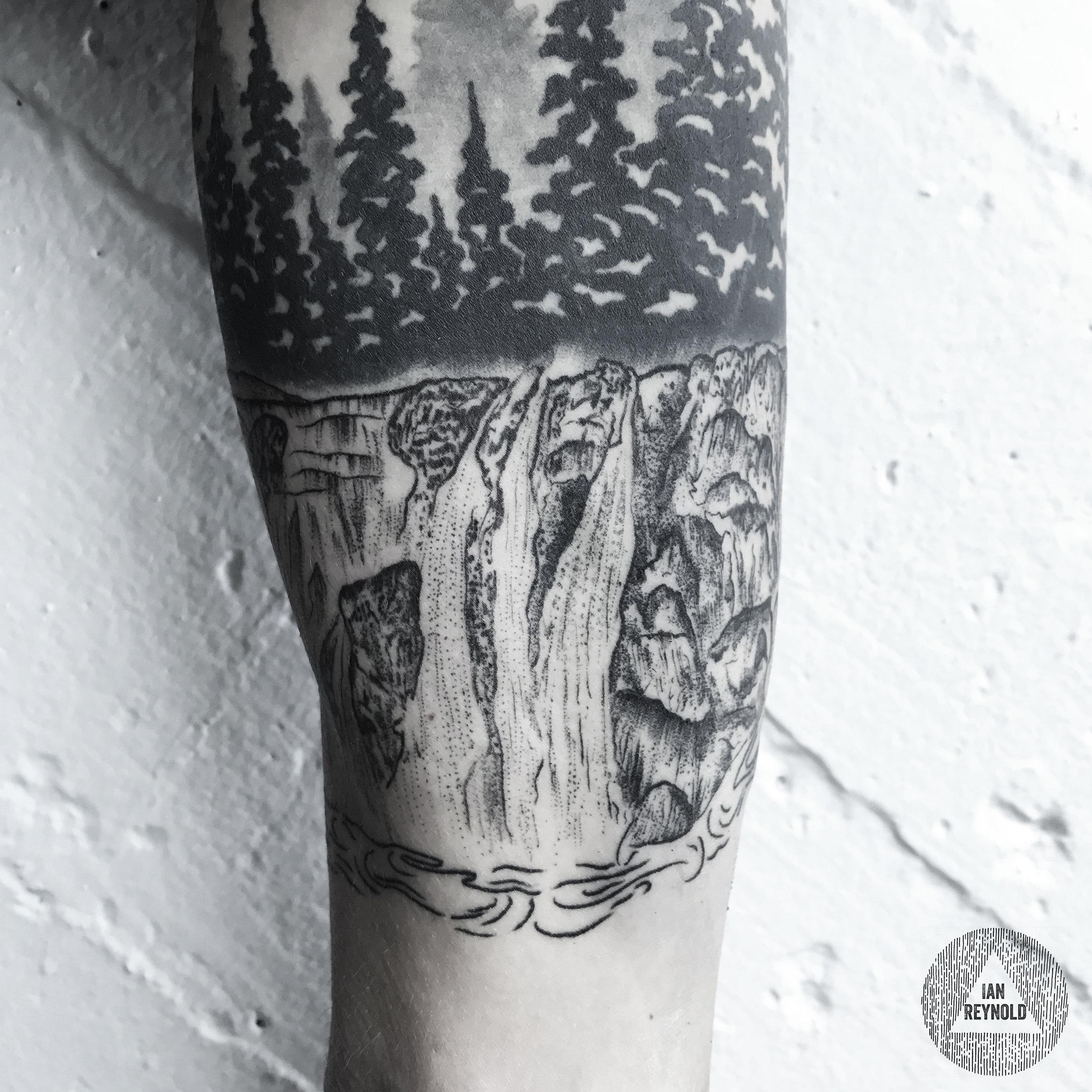 waterfall arm band