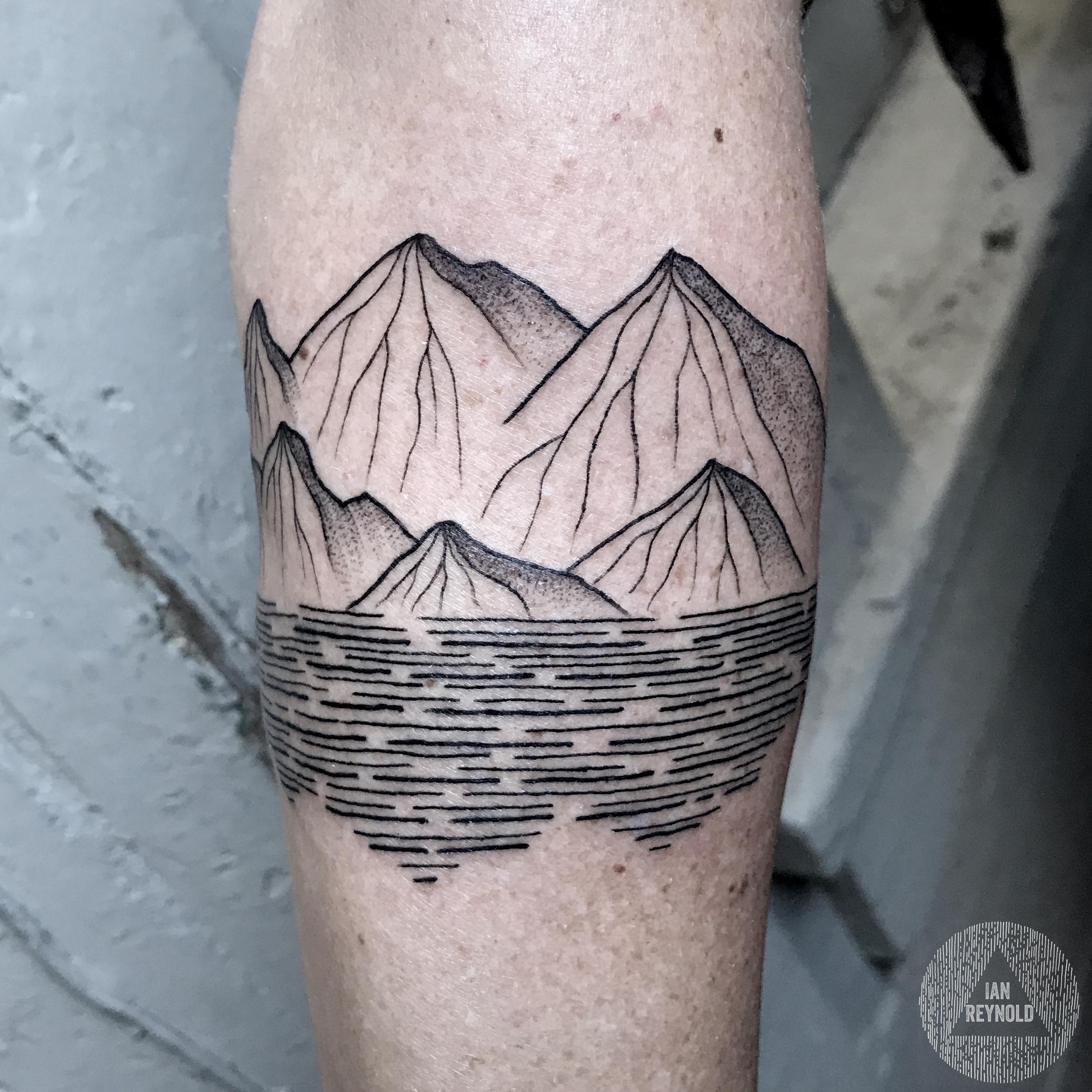 Mountain band (detail)