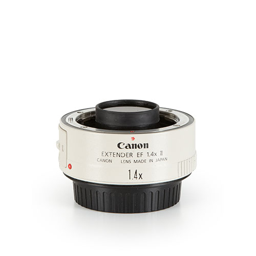 <p><strong>Canon Extender 1.4x</strong>$40 per day<br>EF Extender 1.4x II</p>