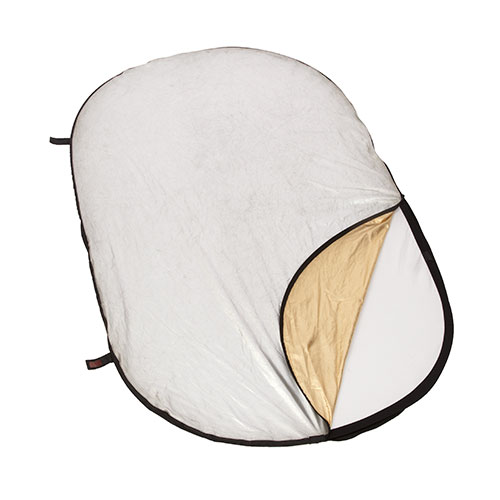 <p><strong>Pop Up Reflector</strong>$10 per day<br>Large Oval Reflector</p>