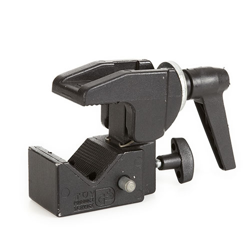 <p><strong>Manfrotto Super Clamp</strong>$3 per day</p>