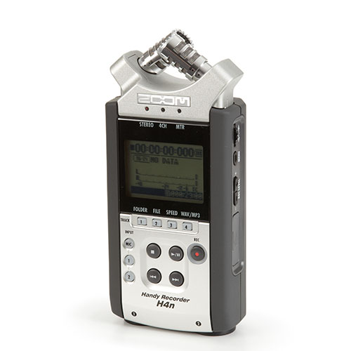 <p><strong>Zoom Audio Recorder</strong>$44 per day<br>Zoom H4N</p>