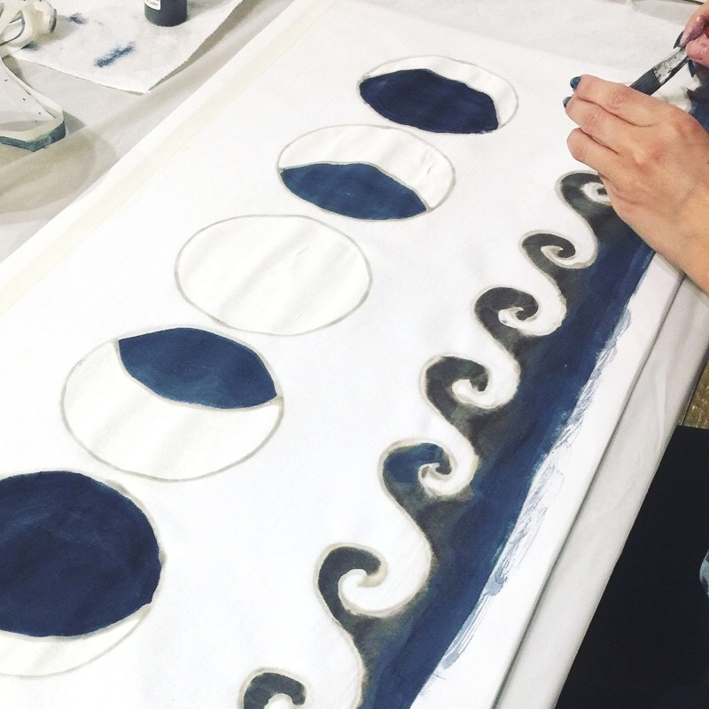Not only for dyeing on fabric but also you can create any artwork by using it like watercolor paint.