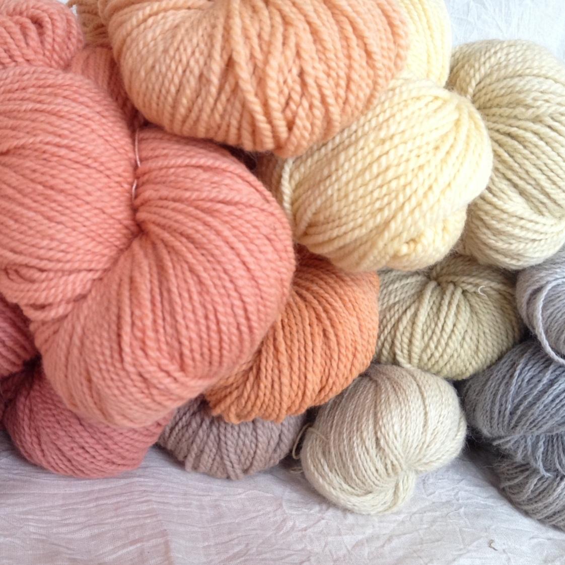 Wool Yarn Dye -