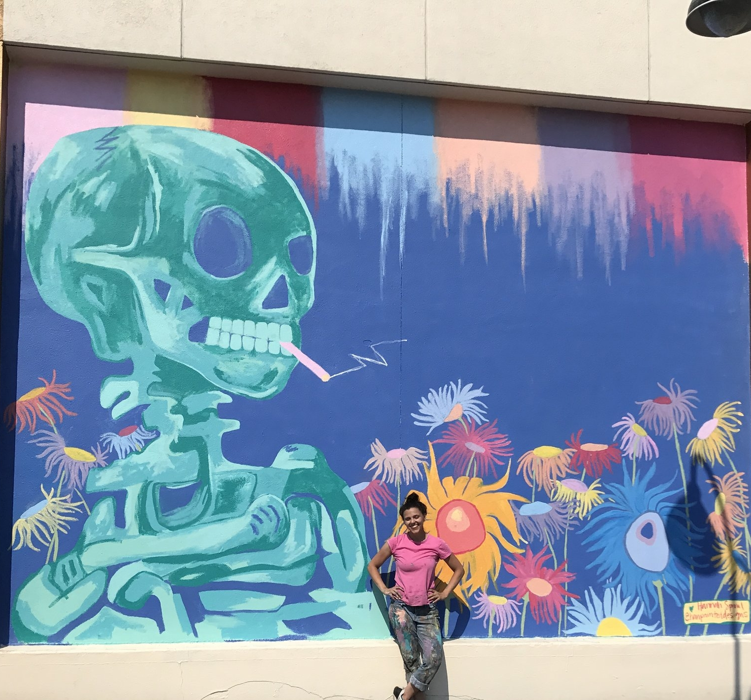 14x20ft mural, painted in 24 hours for Circus Circus in Reno, NV.