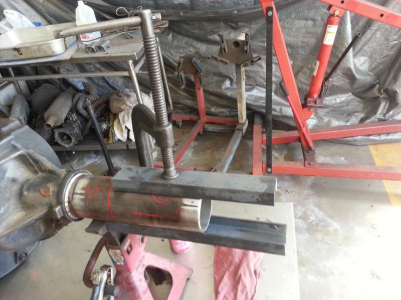 How To Narrow a Ford Explorer 8 8 Rear Axle: Part 3 - Cut