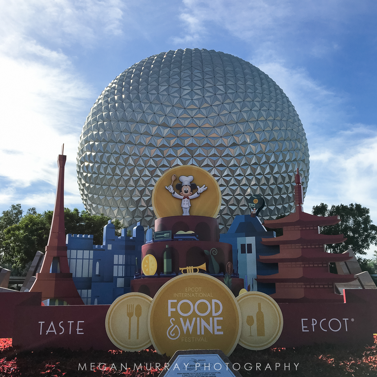 why we came: Food and Wine Festival at Epcot