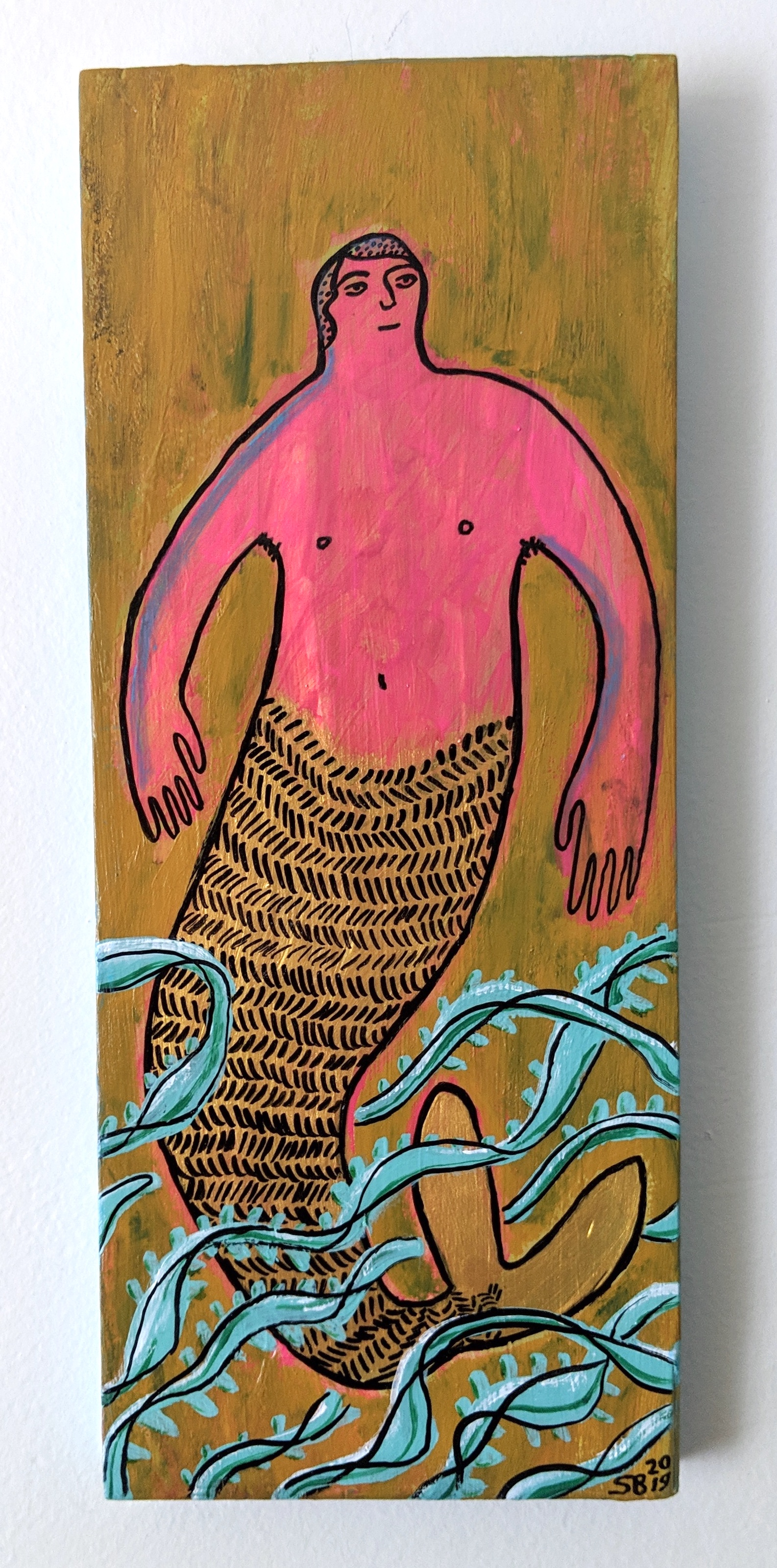 -SOLD- Warm Water Merman
