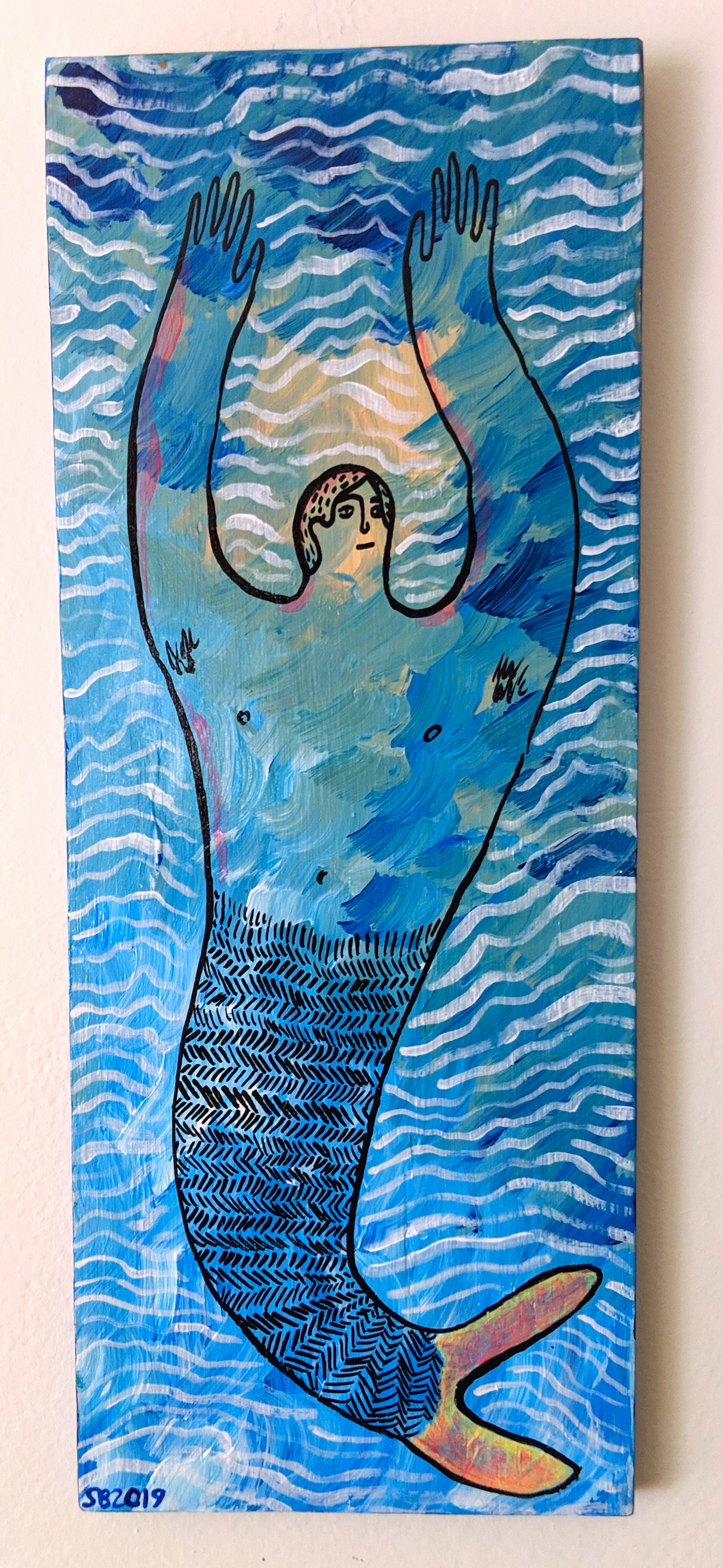 -SOLD- Cold Water Merman
