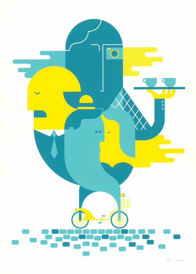 Laurent DuVoux's poster from our 2015 Paris show